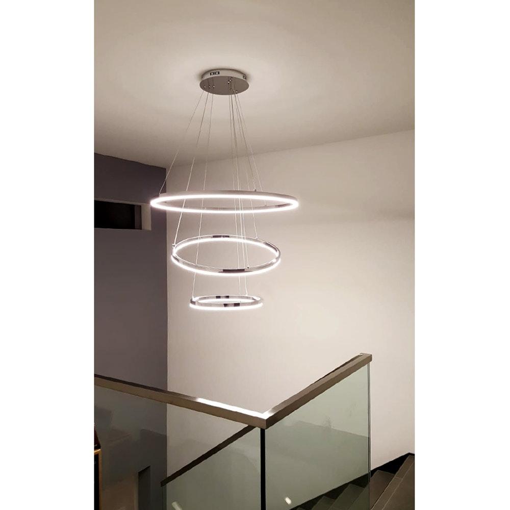 s.LUCE Ring 80 LED Pendellampe Dimmbar 27