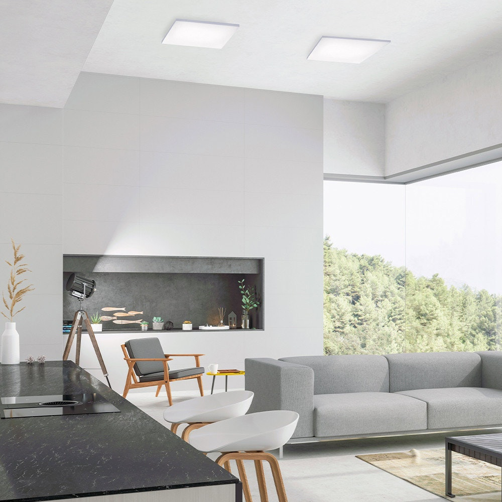 Q-Flat 2.0 rahmenlose LED Deckenleuchte 45 x 45cm CCT + FB Weiß thumbnail 3