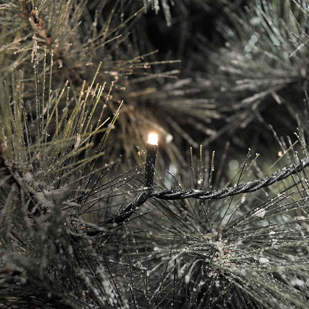 Micro LED Lichterkette 80 Warmweiße Dioden IP44 2
