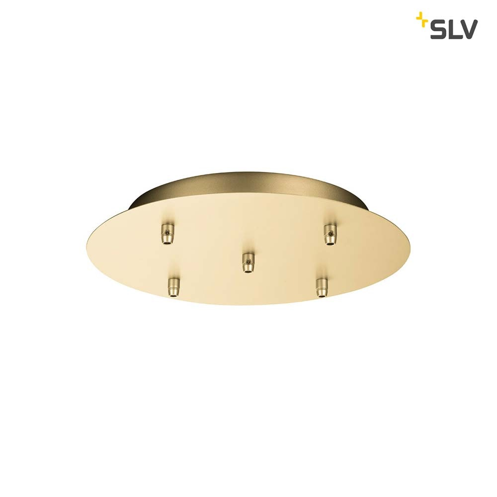 SLV Fitu Fünfach Rosette Soft Gold