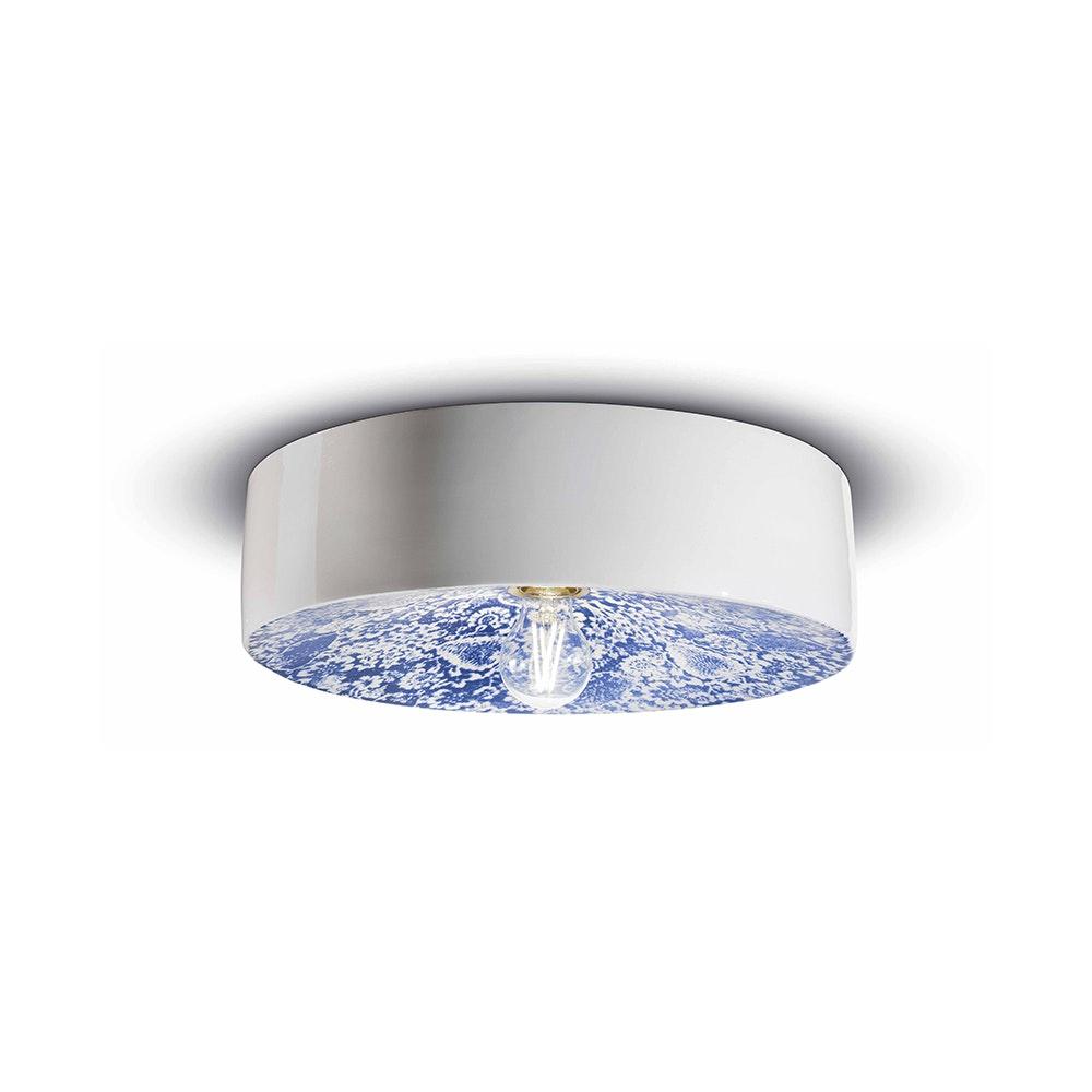 Ferroluce Keramik-Deckenleuchte Pi Ø 40cm 1
