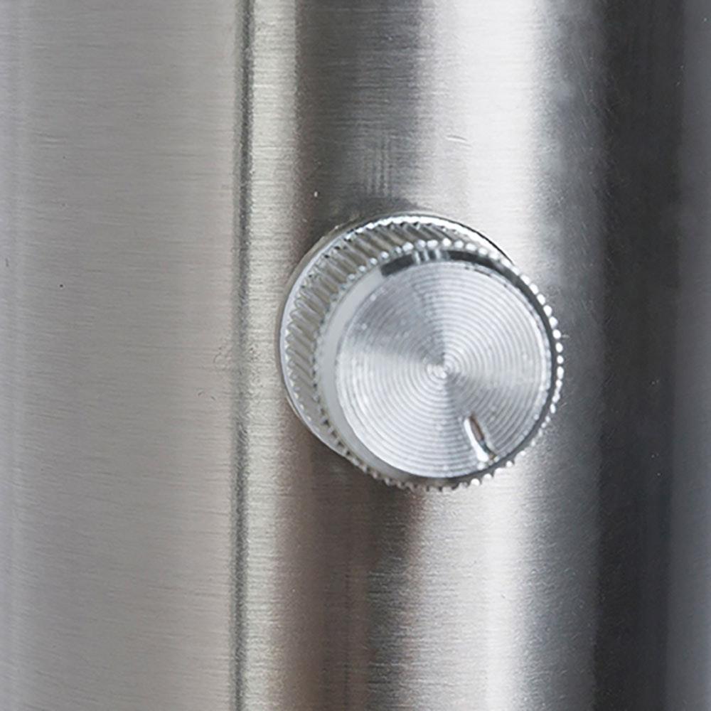 LED Stehleuchte Roslin 10 x Flexo Nickel-Matt, Opal, Weiß 7