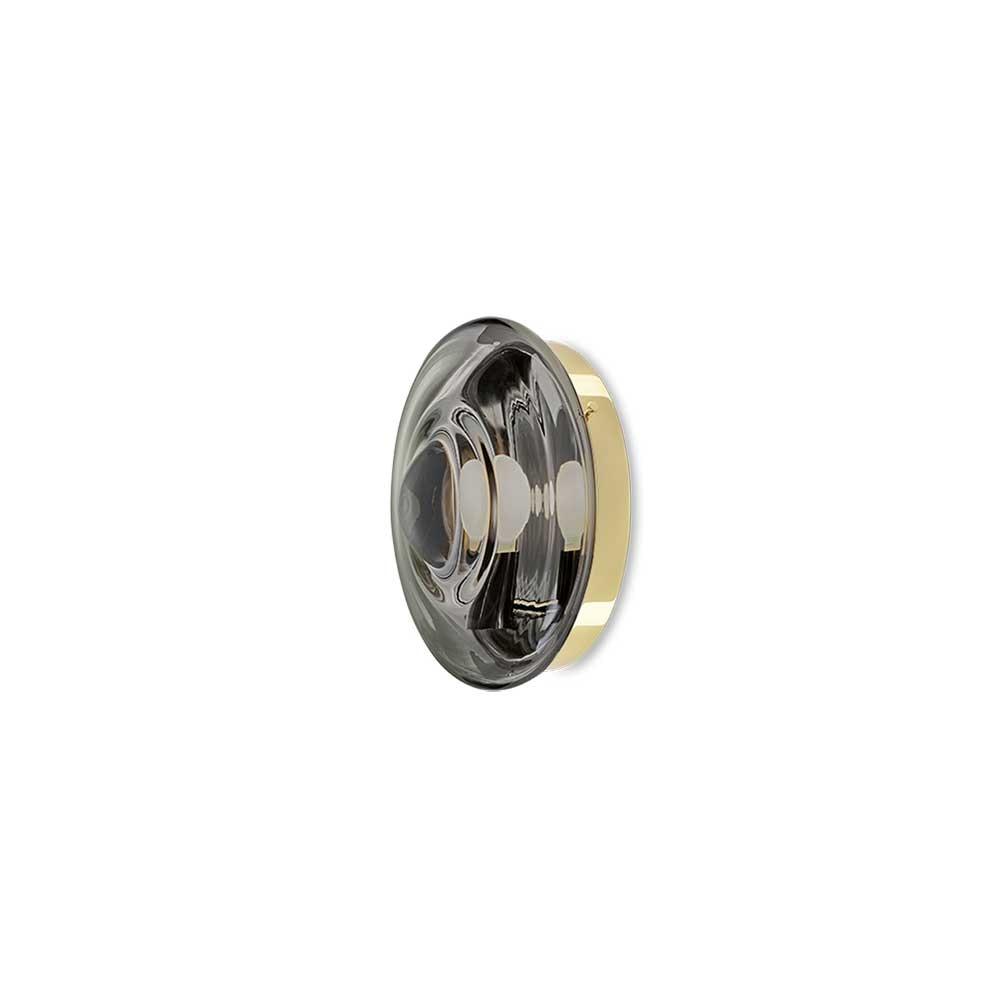 Bomma Orbital Glas-Wandlampe 4