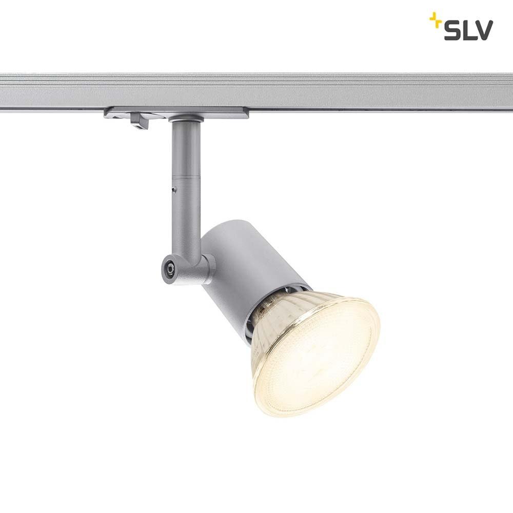 SLV Spot Track E27 Silbergrau inkl. 1P.-Adapter 2