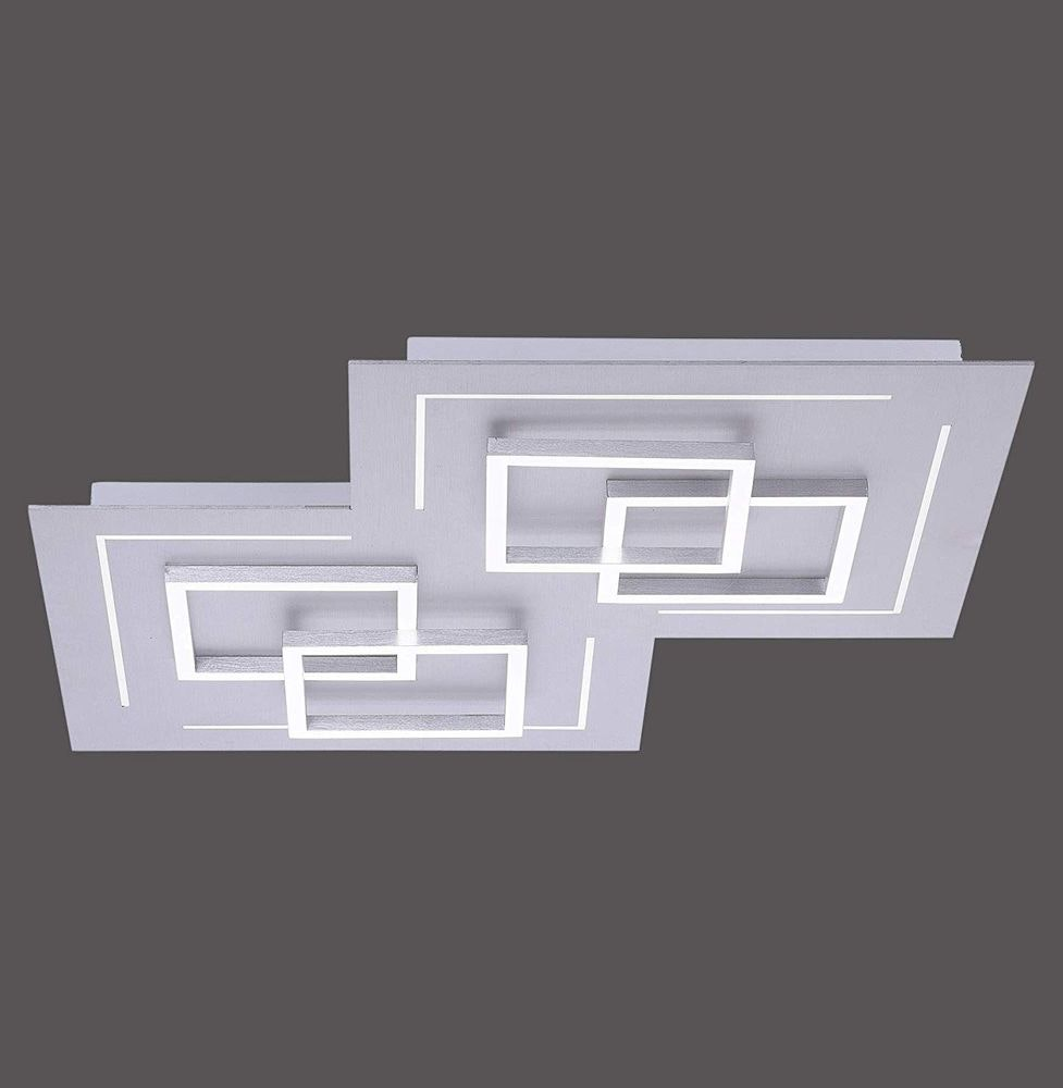 LED Deckenleuchte Q-Linea Alu-Gebürstet