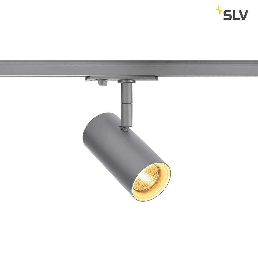 SLV Noblo LED Spot Silbergrau inkl. 1P.-Adapter