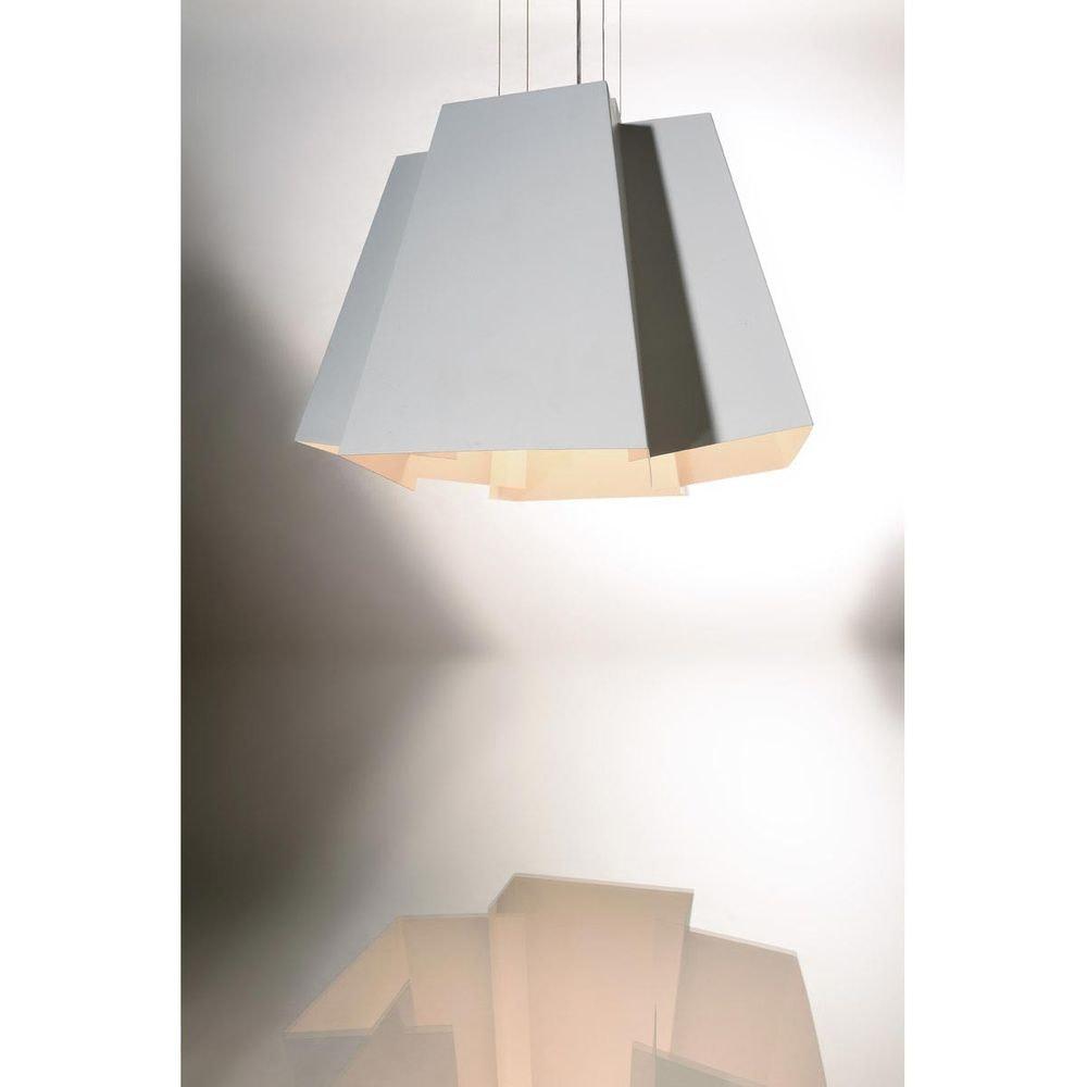 SLV SOBERBIA LED Pendelleuchte 60 eckig Weiß 60 SMD LED 20W 3000K 8