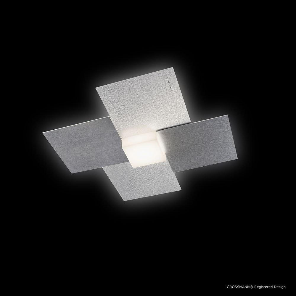 Creo LED-Deckenleuchte 1-flammig 27 x 27cm Alu-matt 2