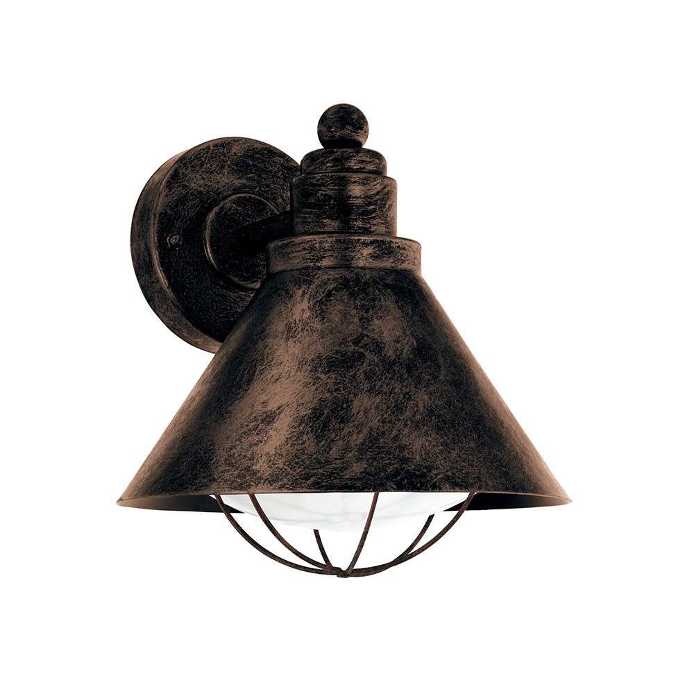 Aussen-Wandleuchte Alert Kupferfarben-Antik