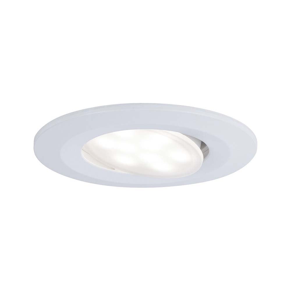 LED Einbauleuchten-Set Calla IP65 Dimm- & schwenkbar 4000K Weiß 1