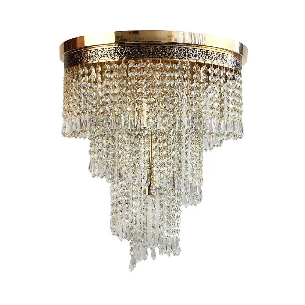 Eleganter Kristall Kronleuchter Wien aus geschliffenen Kristallen 4