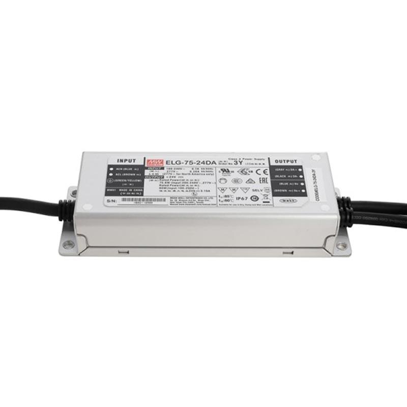 75W zertifiziertes Einbaunetzteil Dali Dimmbar 24V IP65