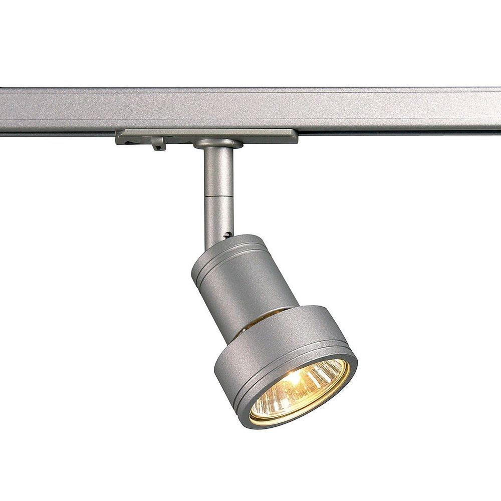 SLV Puri Leuchtenkopf silbergrau GU10 max. 50W inkl. 1P. -Adapter 1