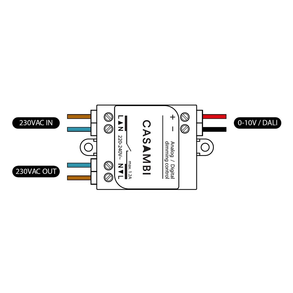 CASAMBI ASD Modul Controller 0-10V & 1-10V Leuchten 2