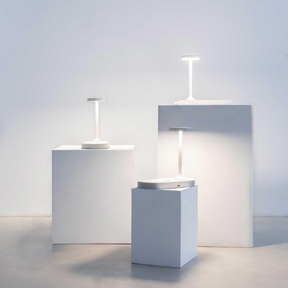 Mantra Ceres LED-Tischleuchte mit Induktionsladegerät 4