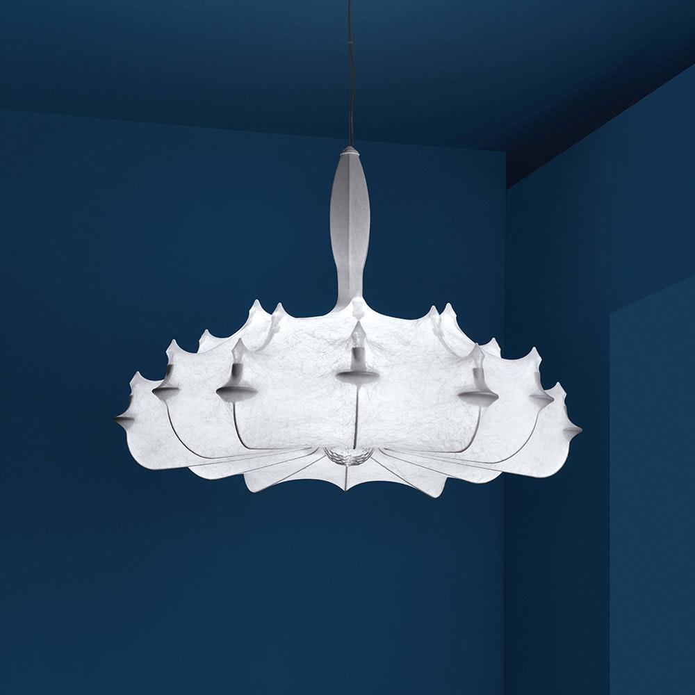 FLOS Zeppelin Cocoon Kronleuchter XL 1
