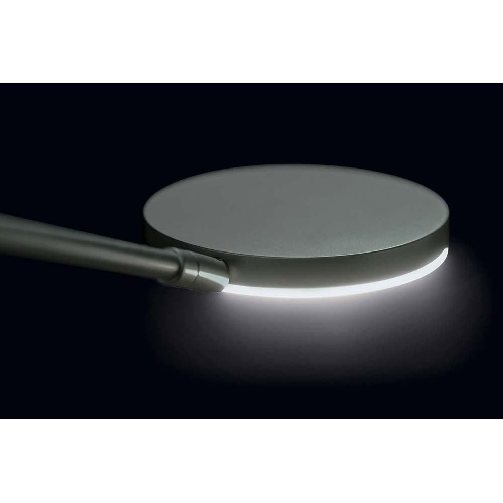Holtkötter LED-Deckenfluter NOVA-PLANO Platin Tastdimmer 6500+2200lm 2700K 4