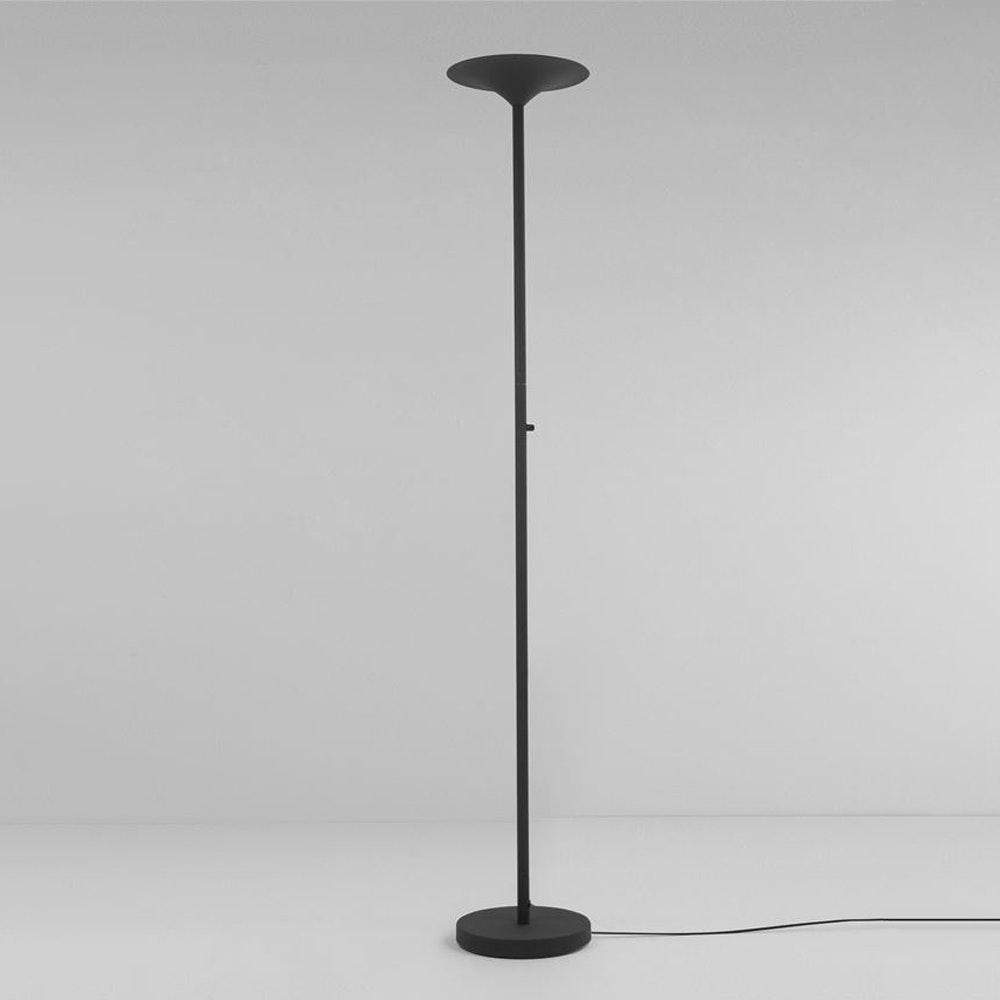 Nova Luce Rocco LED-Stehlampe Schwarz 2