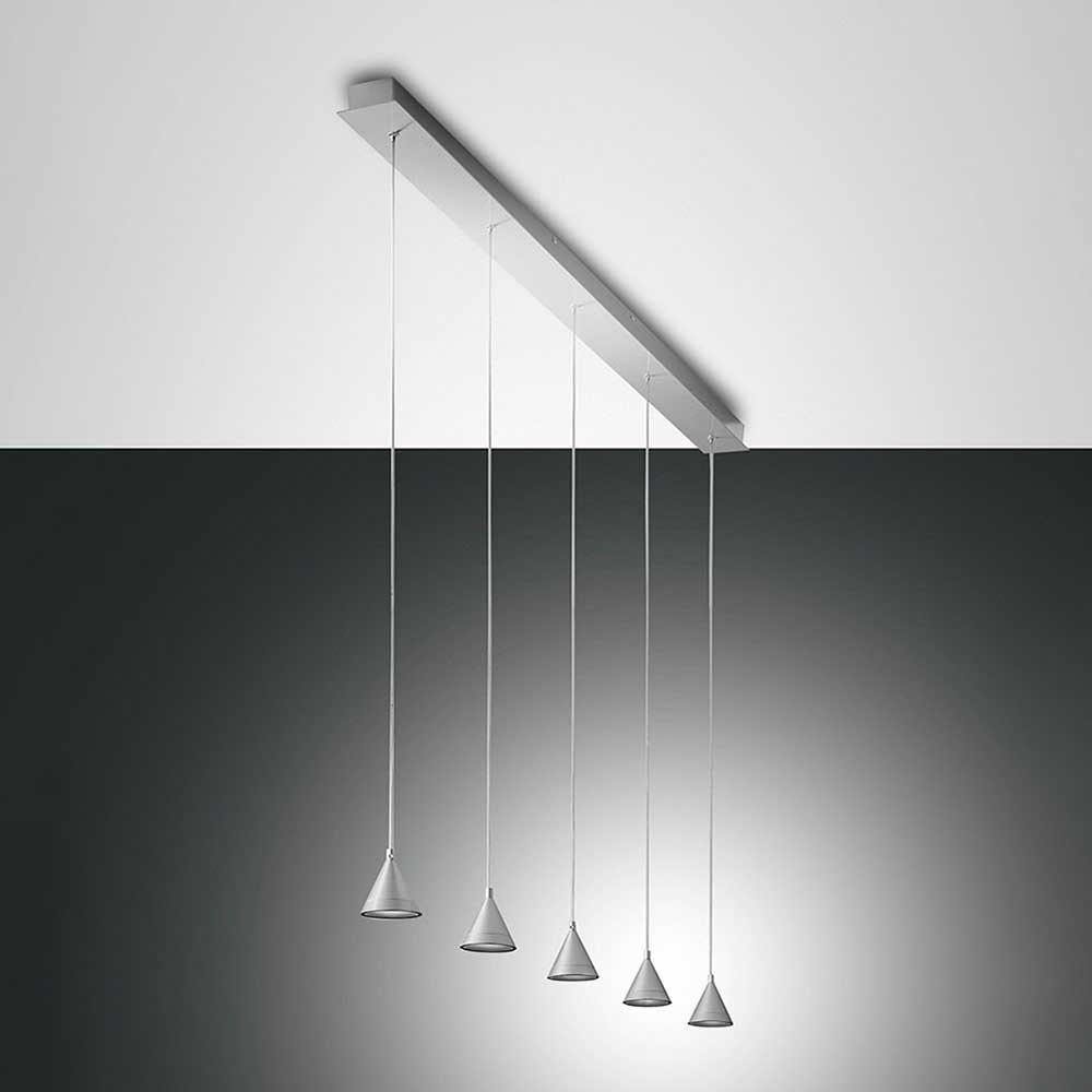 Fabas Luce LED Pendelleuchte Delta Metall 3