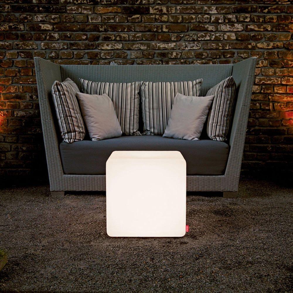 Moree Outdoor Sitzwürfel Cube mit Farbwechsel 1