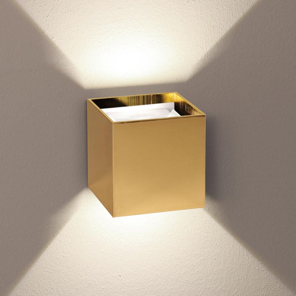 s.LUCE pro LED Wandlampe Ixa Goldfarben 1