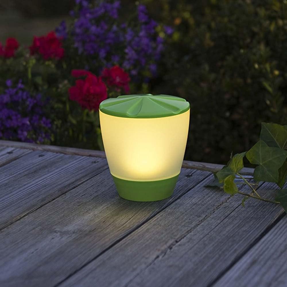 Solar LED Leuchte Assisi Turner Grün