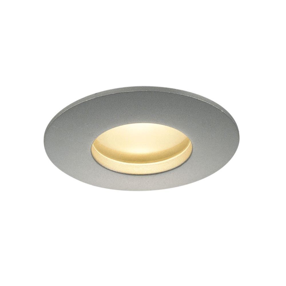 SLV OUT 65 LED DL Round Set Downlight Silbergrau 9W 38° 3000K inkl. Treiber