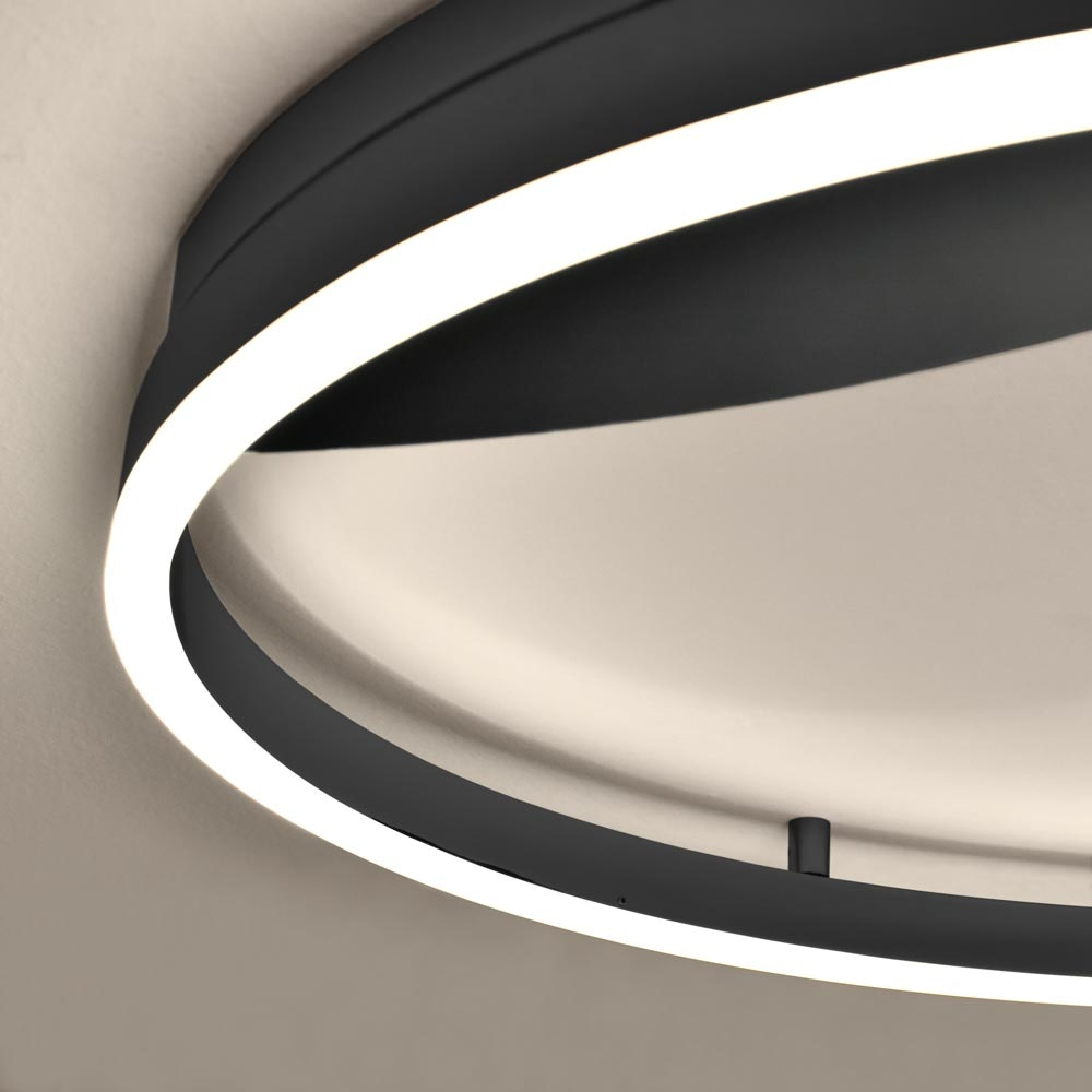 s.LUCE Ring 80 Wand & Deckenlampe LED Dimmbar 21