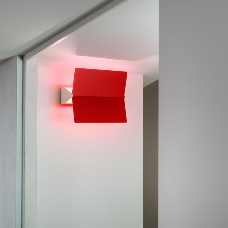 Nemo Applique À Volet Pivotant Plié LED Wandlampe 26x34 1