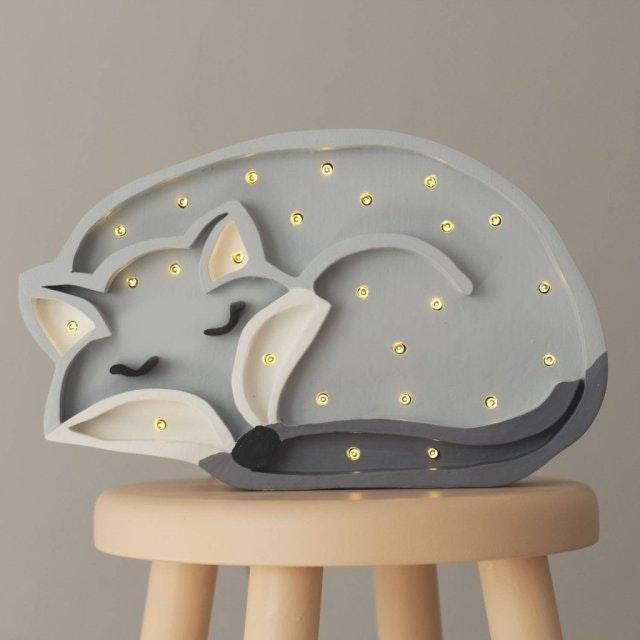 Little Lights Kinder Wand- & Tischleuchte Wolf  1