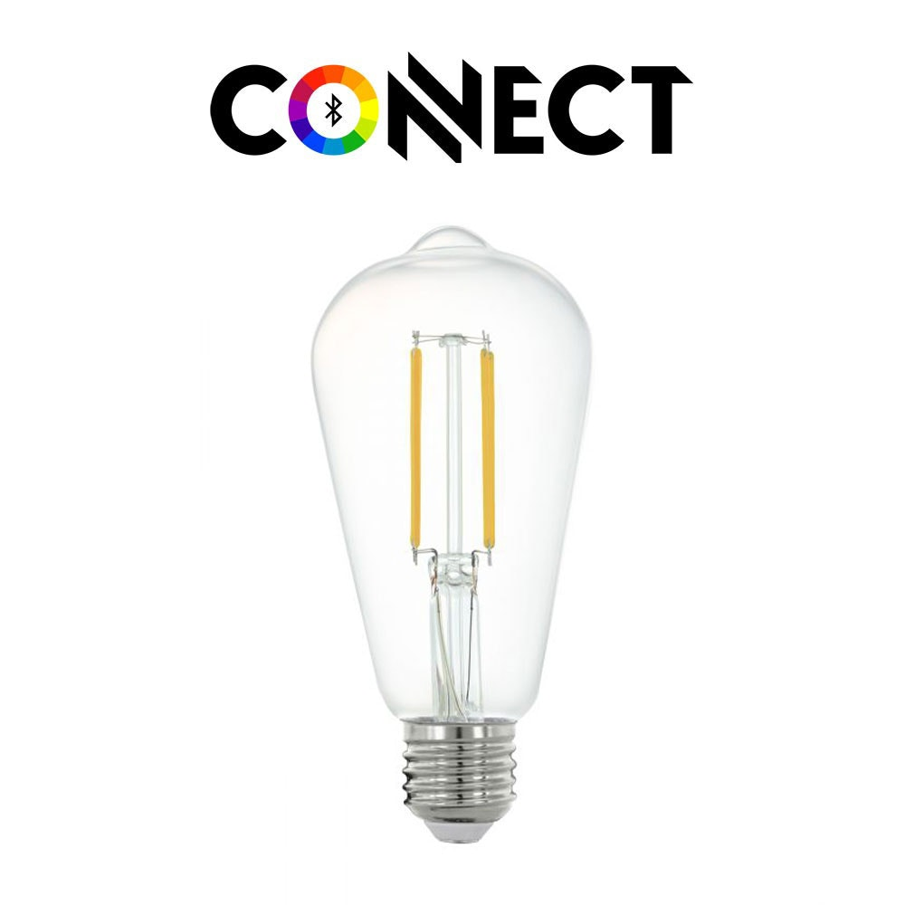 Connect E27 LED Kolben Leuchtmittel 806lm Warmweiß