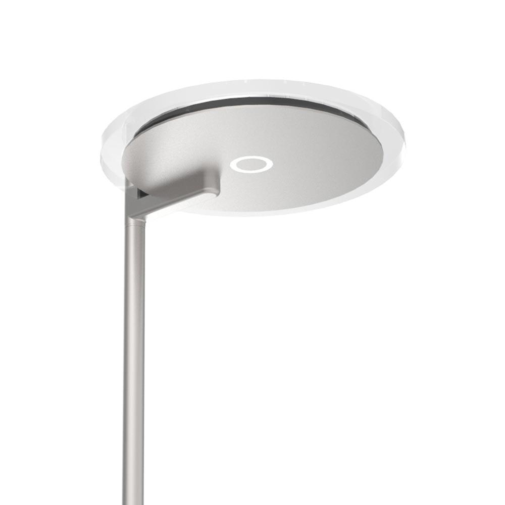 Steinhauer LED-Deckenfluter Turound LED mit Lesearm Tastdimmer 2700K 10
