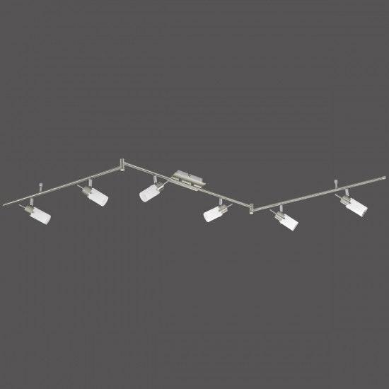 Max LED Deckenleuchte Stahl GU10 7