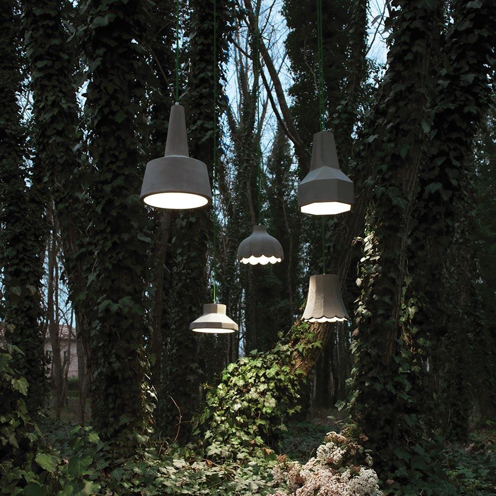 Karman Settenani Gongolo LED-Außen-Hängeleuchte IP65 2