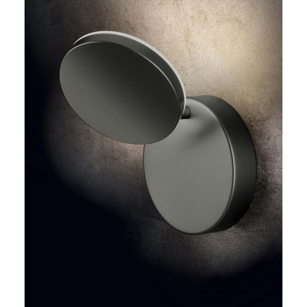 Holtkötter LED-Wandlampe PLANO W Platin Dimmbar 2000lm 2700K 2