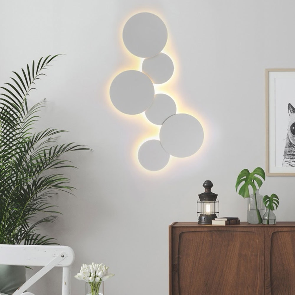 s.LUCE indirekte LED Wandleuchte Plate 19