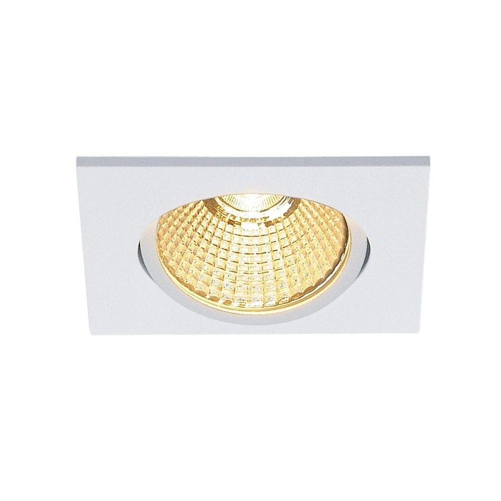 SLV New Tria 68 LED DL Square Set Weiß 9W 38° 3000K inkl. Treiber 1