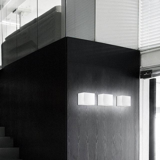 Panzeri Kubik Wand- oder Deckenlampe Glaswürfel thumbnail 3