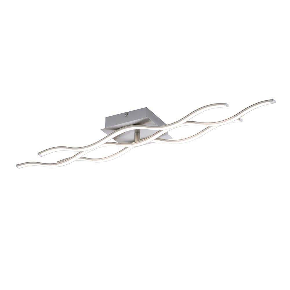 Max LED Deckenleuchte Stahl GU10 3