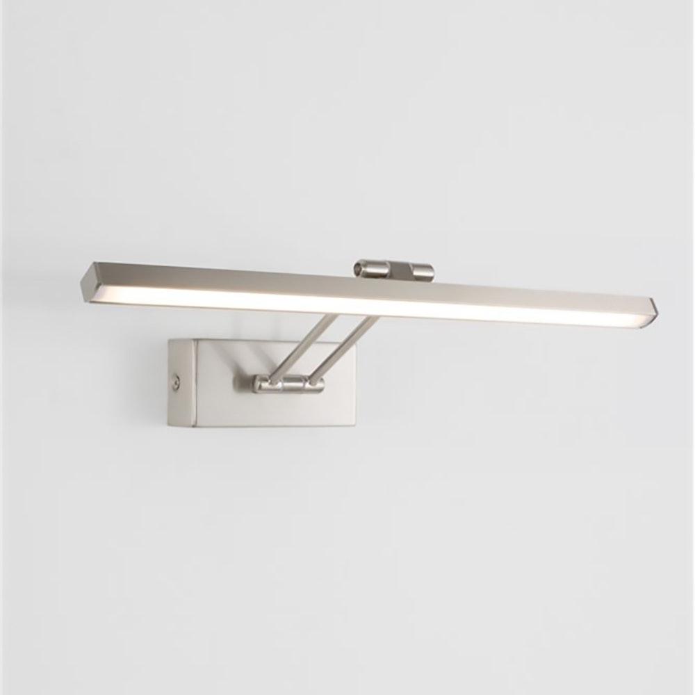 Nova Luce LED-Wandleuchte Marnell Silber 1