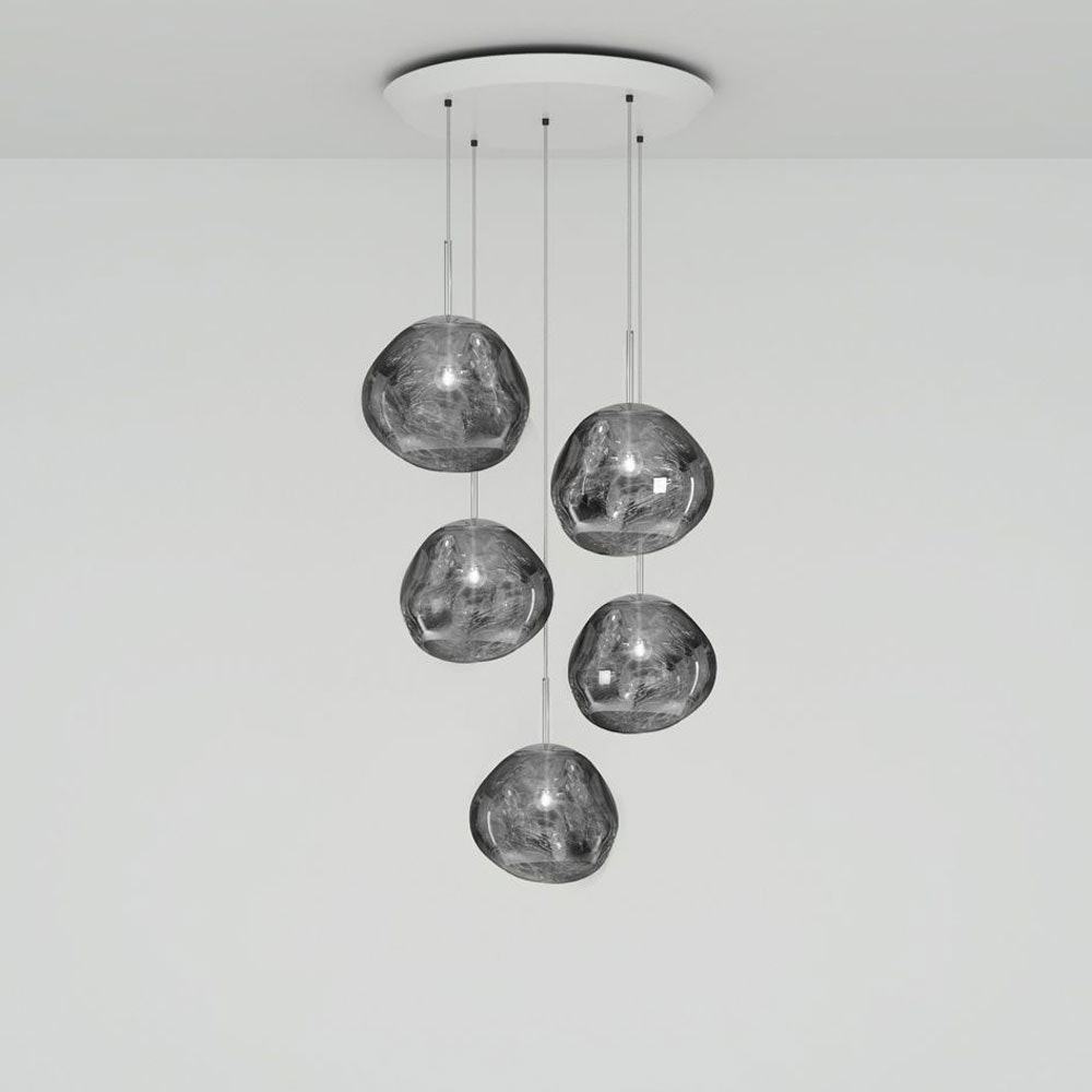 Tom Dixon Melt Mini LED Pendellampe 5er Mobile thumbnail 6
