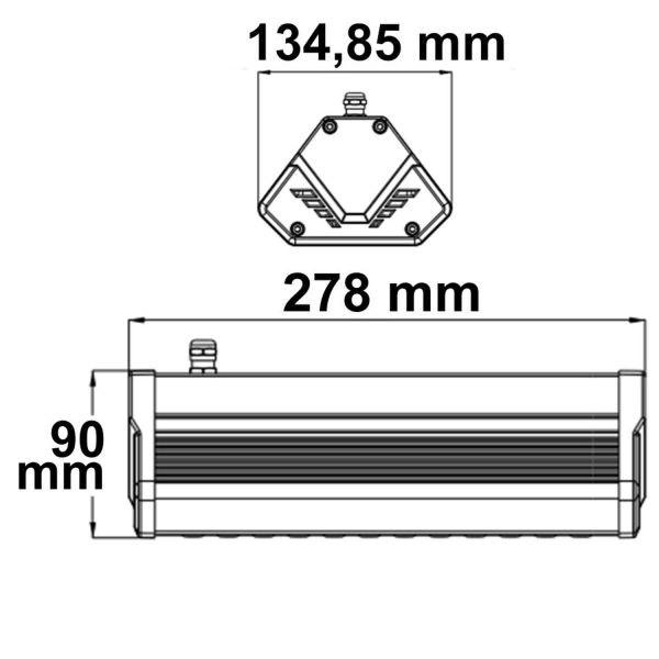 LED Hallenleuchte LN 50W 30°*70° IP65 1-10V dimmbar neutralweiß 2