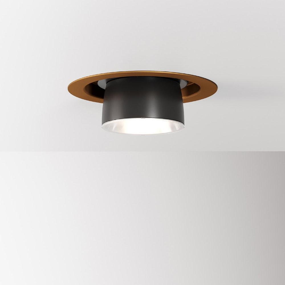 Fabbian Claque LED-Einbauleuchte Ø 13cm 1