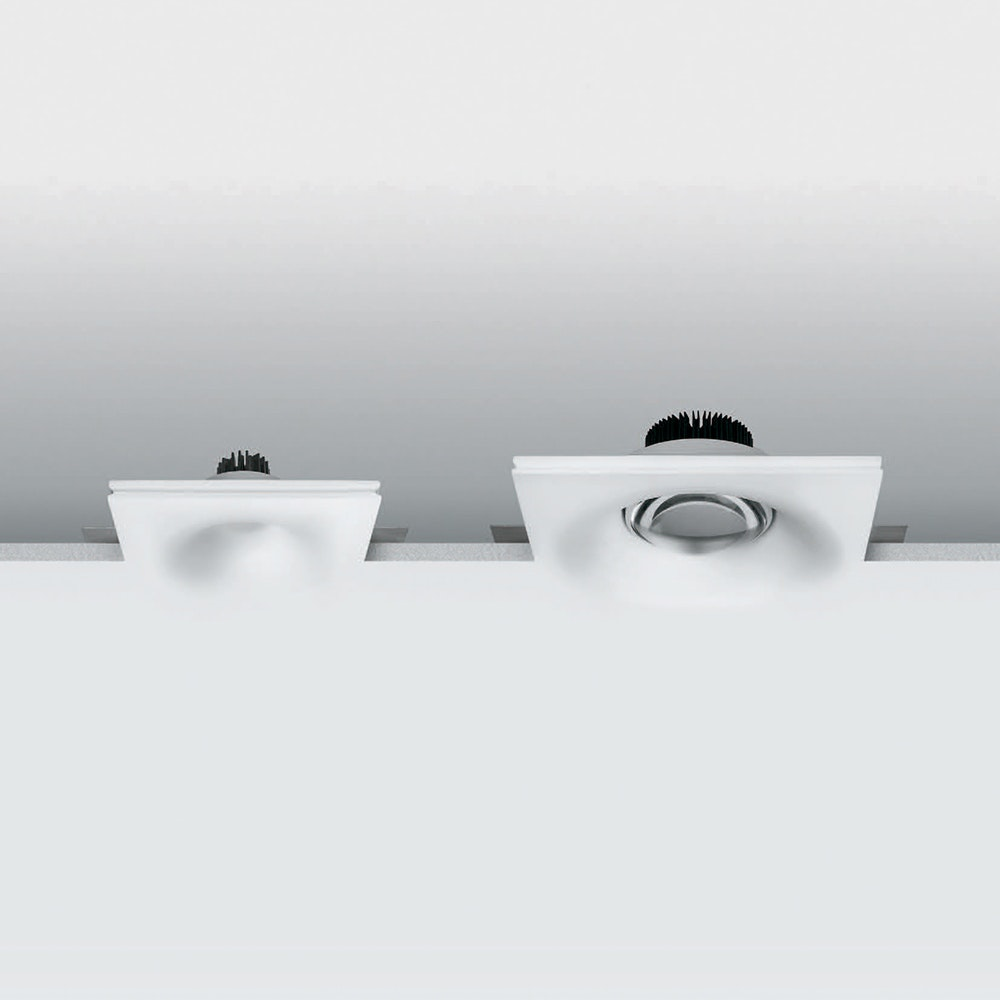 Linealight Gypsum Eye LED-Einbauspot 24,2cm 1