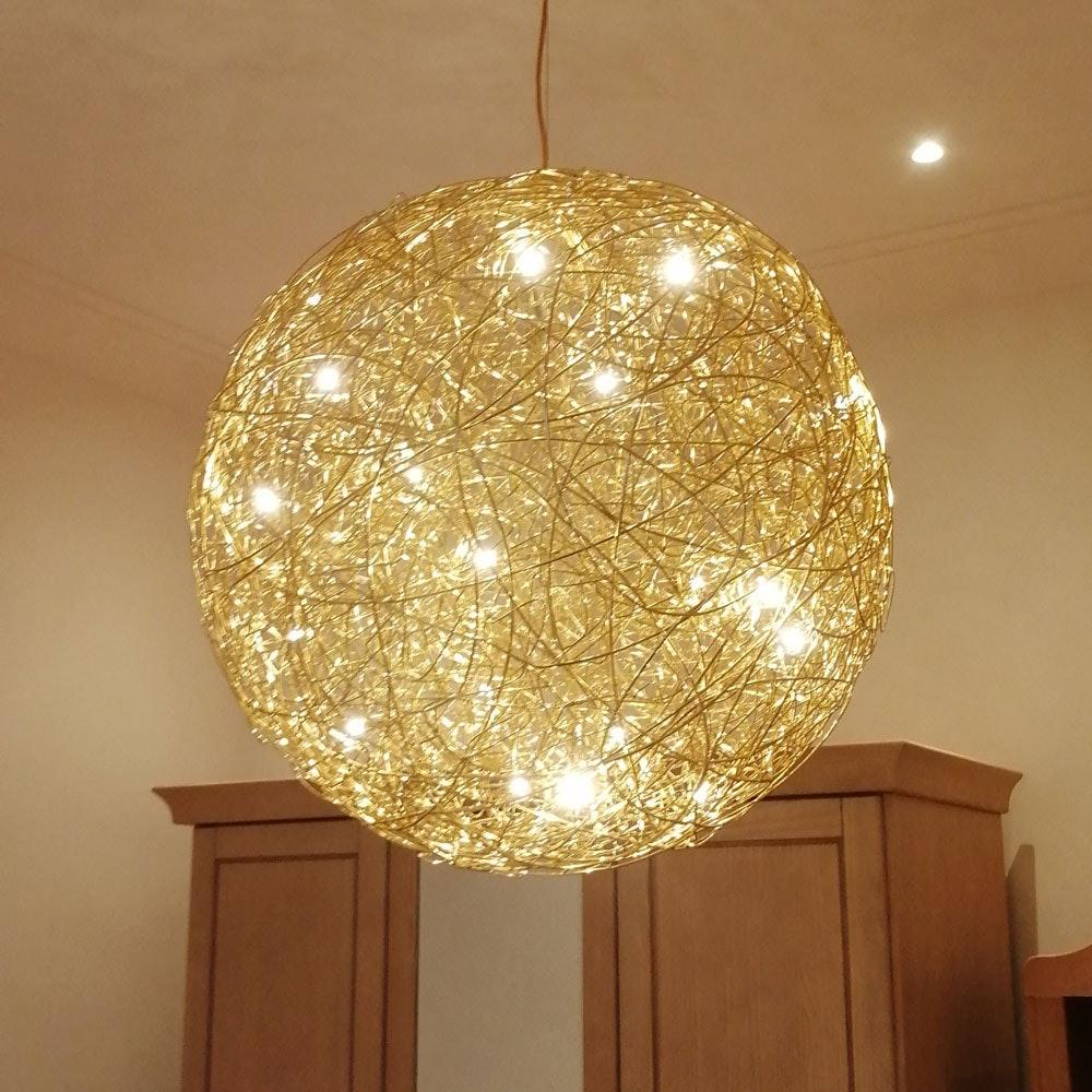 Catellani & Smith Fil de Fer LED Hängelampe Drahtgeflecht Dimmbar thumbnail 3