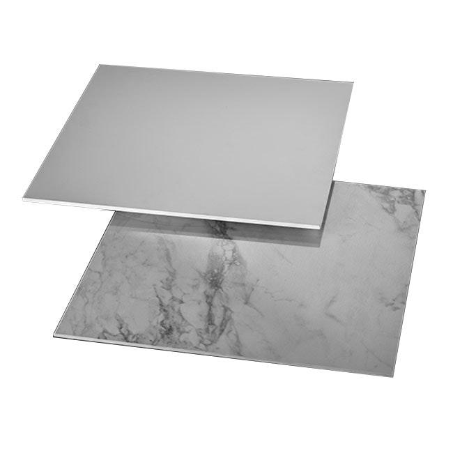 Studio Italia Design Puzzle Mega Square 53cm Wand- & Deckenlampe Marmor thumbnail 4