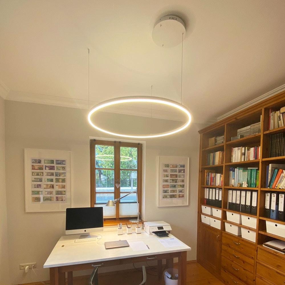 s.LUCE Ring 100 direkt oder indirekt LED-Hängelampe 12