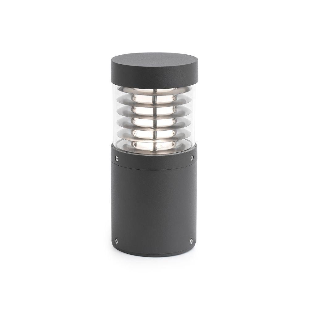 LED Pollerleuchte GIZA 12W 3000K IP54 Dunkelgrau 1