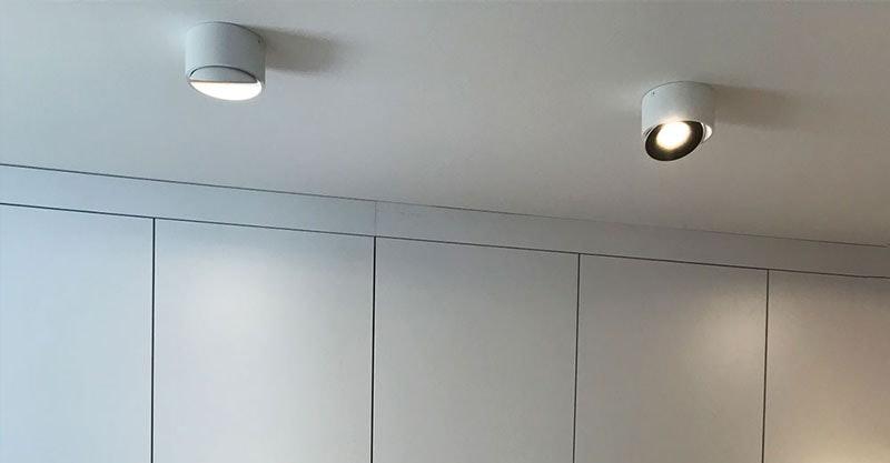 Flurbereich Lampen