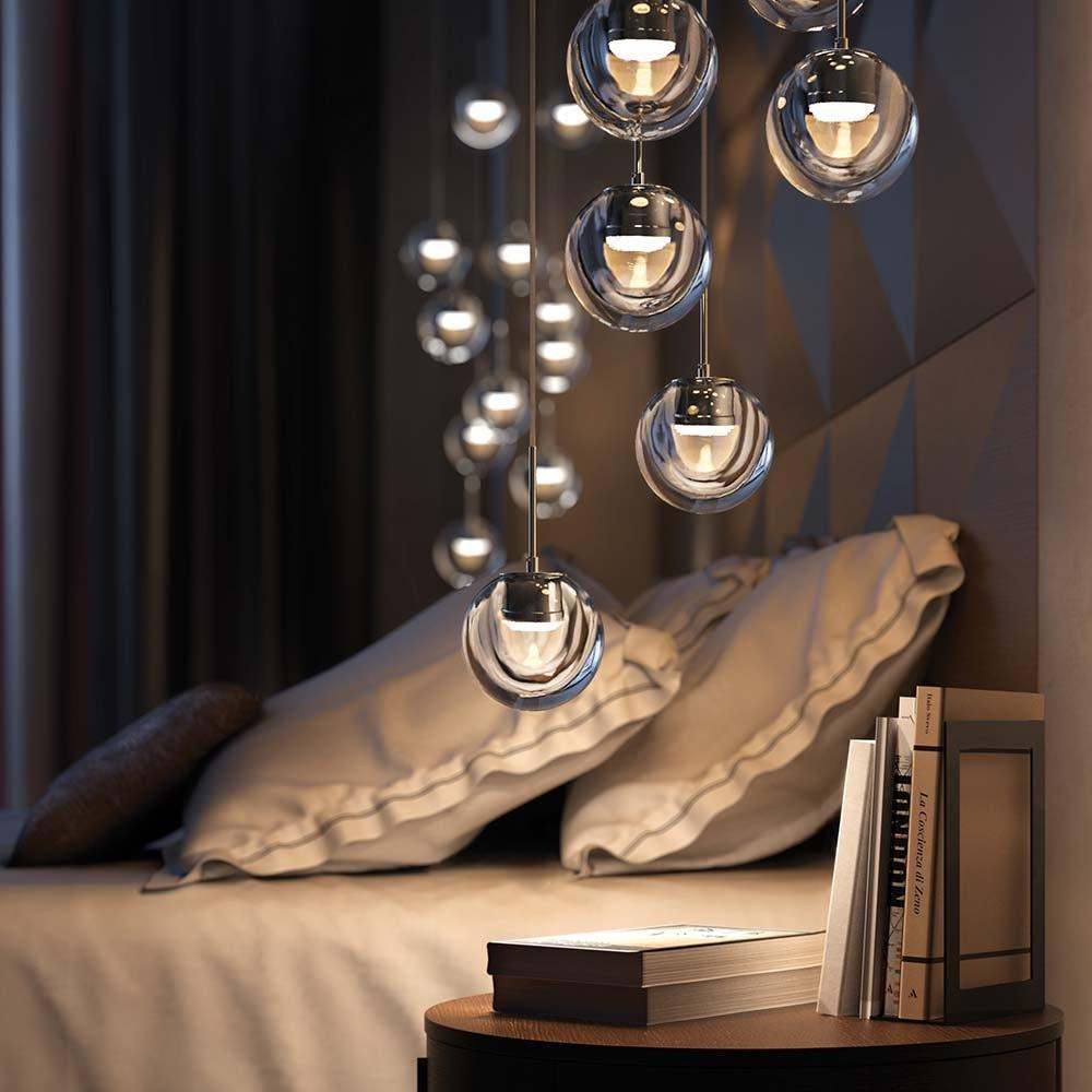 Kundalini LED Einbau-Pendeleuchte Dew Ø 11cm Dimmbar 1